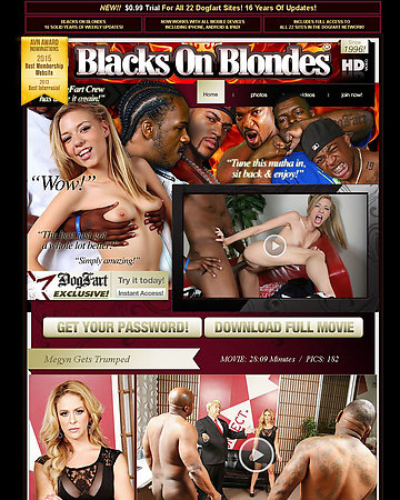 Blacks On Blondes Screencap