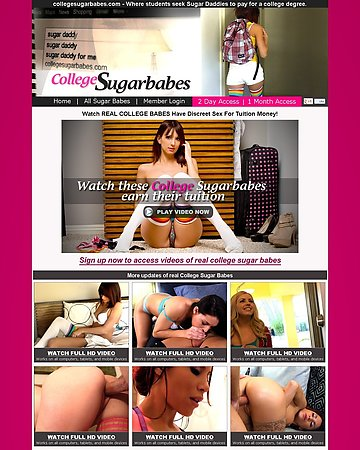 College Sugar Babes Screencap