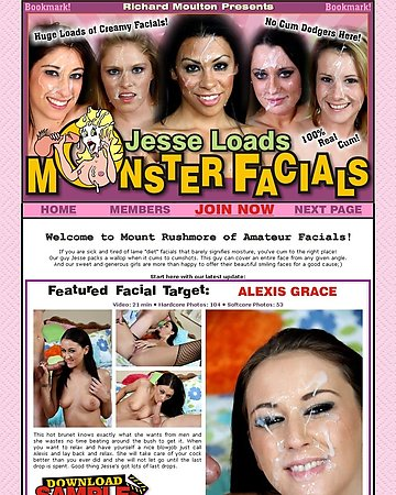 Jesse Loads Monster Facials Screencap