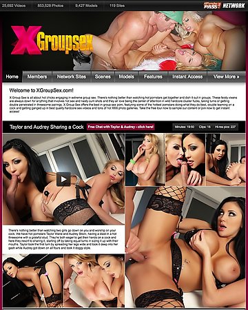X Group Sex Screencap